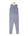 U.S. Polo Assn. Women Drawstring Waist Printed Jumpsuit
