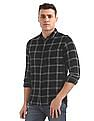 Flying Machine Slim Fit Check Shirt