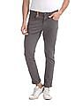 U.S. Polo Assn. Denim Co. Grey Brandon Slim Tapered Fit Mid Waist Jeans