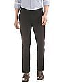 USPA Tailored Slim Fit Textured Trousers