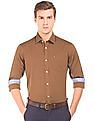 Arrow Sports Slim Fit Cotton Twill Shirt