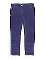 U.S. Polo Assn. Kids Girls Solid Brushed Trousers