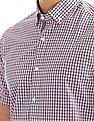 Nautica Short Sleeve Plaid Shirt