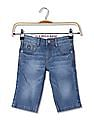 U.S. Polo Assn. Kids Boys Slim Fit Denim Shorts