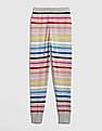 GAP Girls Multi Colour Crazy Stripe Sweater Leggings