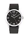 U.S. Polo Assn. Leather Strap Analog Watch