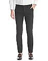 Excalibur Super Slim Fit Check Trousers