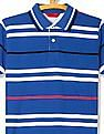 Izod Striped Pique Polo Shirt