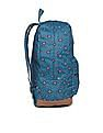 Aeropostale Contrast Panel Printed Backpack