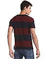 U.S. Polo Assn. Red And Navy Crew Neck Striped T-Shirt