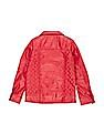 U.S. Polo Assn. Kids Girls Quilted Faux Leather Jacket