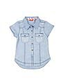 Elle Kids Girls Regular Fit Denim Shirt