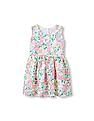 The Children's Place Toddler Girl Sleeveless Floral Lace Flare Dress