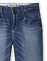U.S. Polo Assn. Kids Boys Skinny Fit Mid Rise Jeans